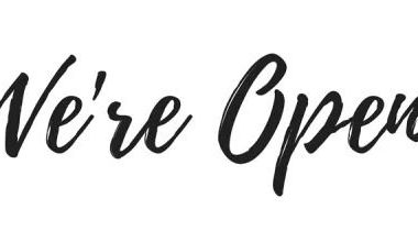 We´re Open!!